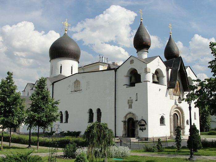 Марфо-Мариинская обитель. Покровский собор