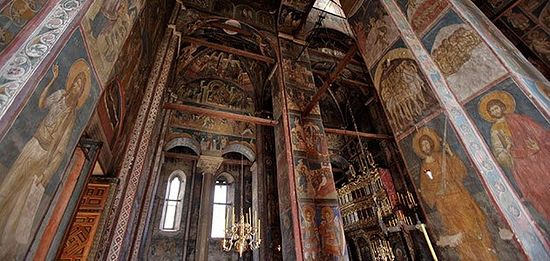 14th-century Visoki Decani Monastery in Kosovo and Metohija, Serbia. (Danita Delimont / Alamy)