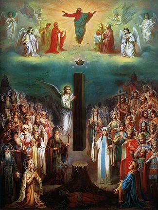 Икона «Слава Грузинской Православной Церкви»