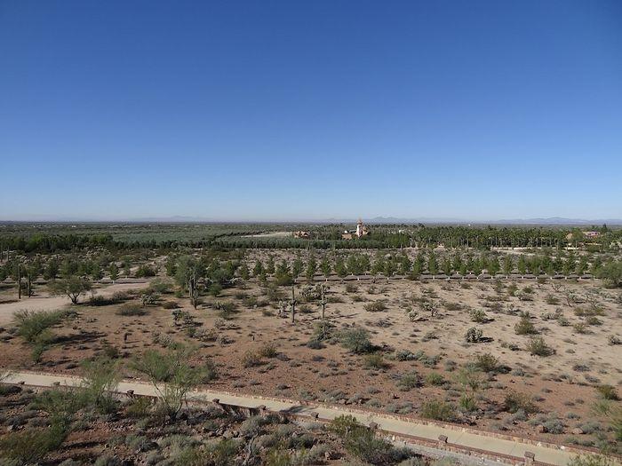 Вид на монастырь из храма Илии Пророка
