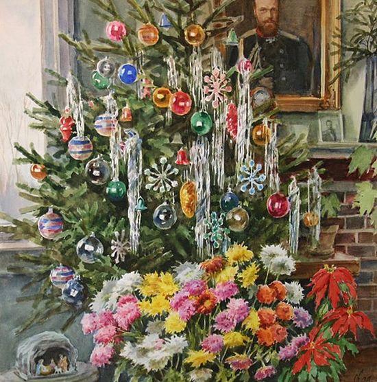 Drawing by Grand Duchess Olga Alexandrovna. Source: Grand Duchess Olga Alexandrovna