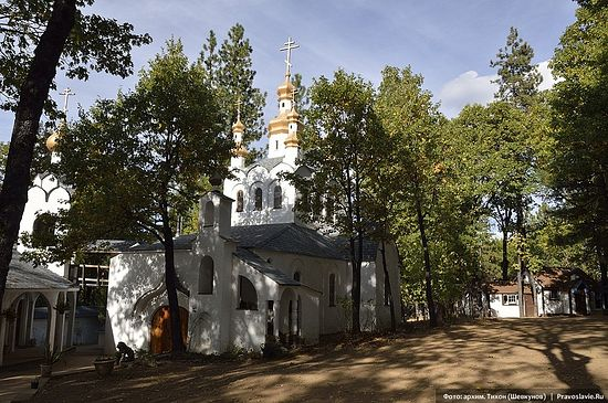 Monastery of St. Herman of Alaska. Platina, California
