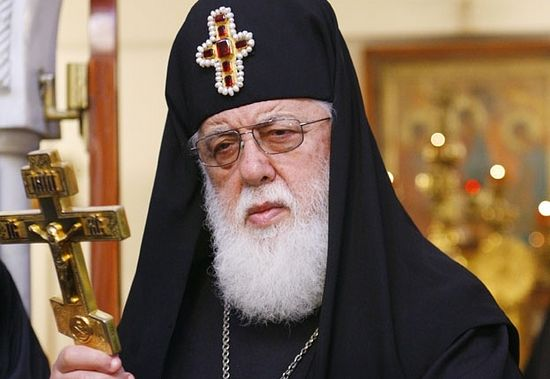 Patriarch-Catholicos Ilya II of all Georgia