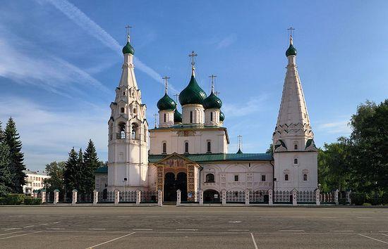 The church of St. Elias in Yaroslavl