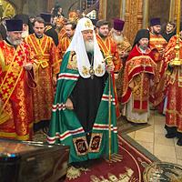 Патриаршее Богослужение в Сретенском монастыре