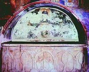 Гробница ктиторов преподобных Афанасия, Николая и Антония