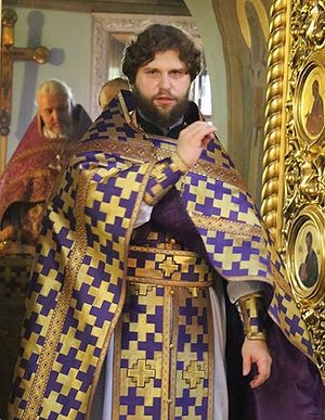 Священник Андрей Рахновский