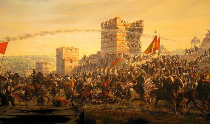 Взятие Константинополя. 1453 г.