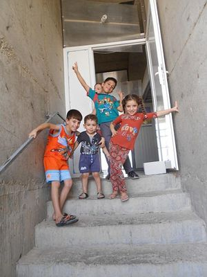 Children of Al-Amal Hope Center.