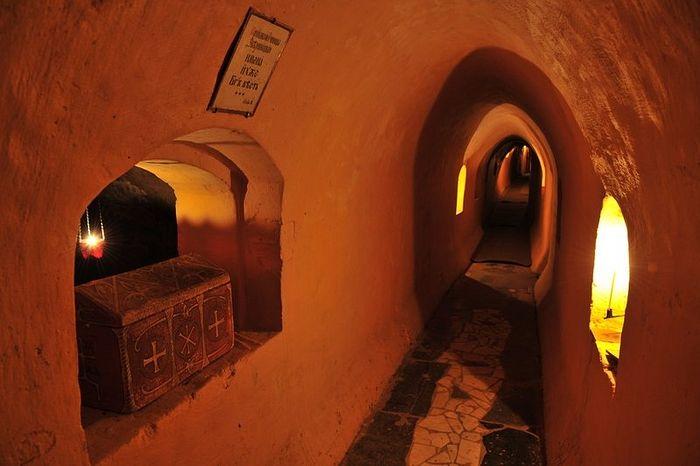В пещерах Киево-Печерской лавры