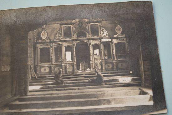 Иконостас Успенского храма, 1915 год