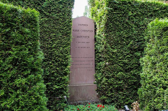 Могила Г.Х. Андерсена