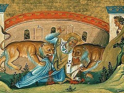 Страдање светог свештеномученика Игњатија Богоносца