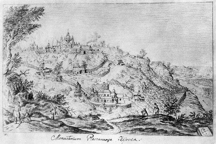 Ближние пещеры. Автор Абрахам ван Вестервельд, 1651 год.
