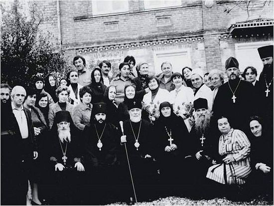 The number of clergy and churches was comparatively less when Ilia II became the Catholicos-Patriarch of Georgia. Photo by the burusi. wordpress.com.