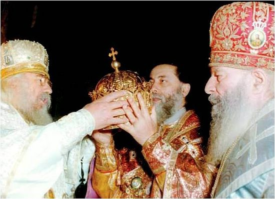 Ilia II becomes Catholicos-Patriarch of Georgia, Photo by burusi.worldpress.com.
