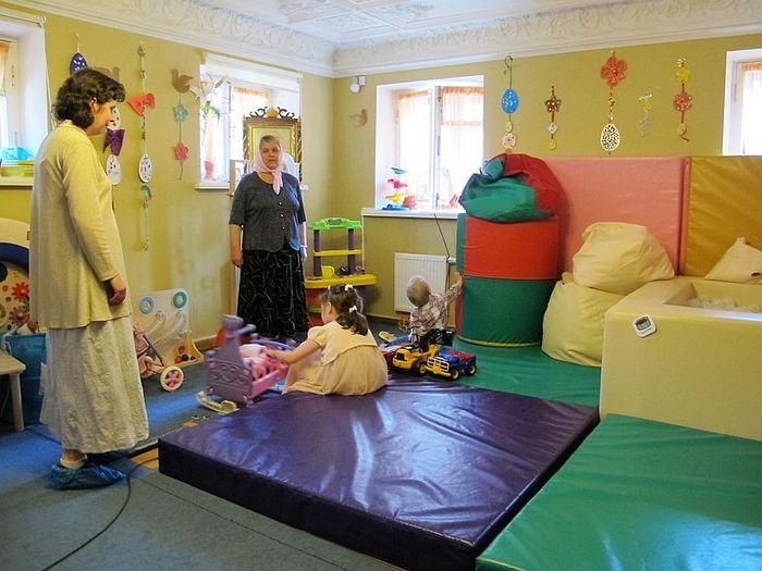 Игровая комната детского сада для детей с ДЦП