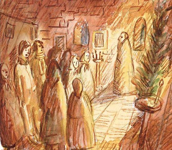 Рисунок Ксении Наумовой