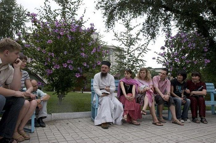 О. Даниил (Сысоев) в Киргизии
