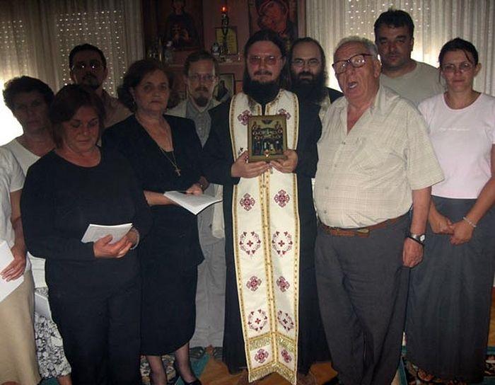 О. Даниил (Сысоев) в Македонии