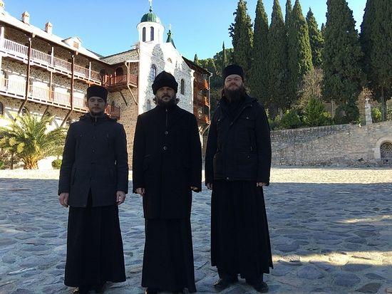 В Русском на Афоне Пантелеимоновом монастыре
