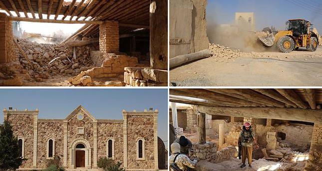 Уничтожение католического монастыря Мар Элиан