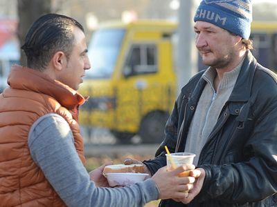 50 гривен от бездомного и другие одесские истории православного палестинца