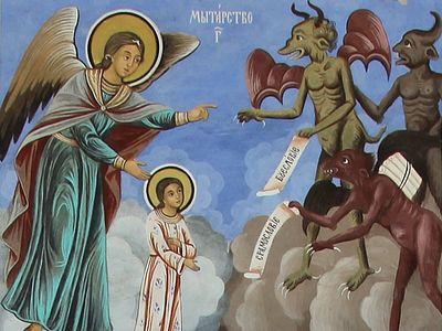 Библия и отцы Церкви о воздушных мытарствах (+ВИДЕО)