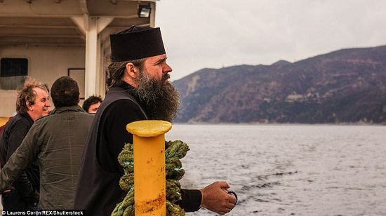"""It is not like the usual tourist route. It is not easy to get to Mt. Athos. Pilgrims should comply with a specific dress code and a number of other rules""."