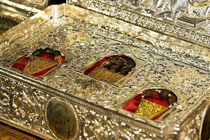 Дары волхвов хранятся в настоящее время в монастыре св. Павла на Афоне