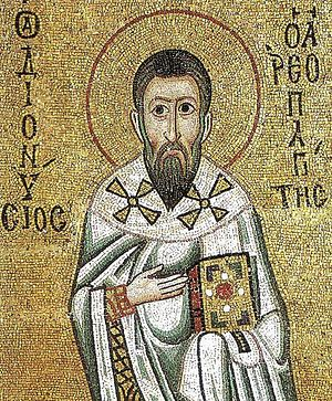 St. Dionysius the Areopagite. Hosios Loukas Monastery, Boeotia, Greece