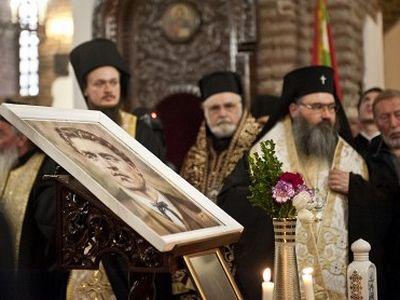 Облачения героя Болгарии иеродиакона Игнатия (Левского) выставлены в храме Святой Софии