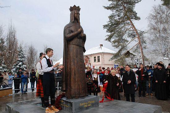 Откривен споменик кнегињи Милици, Фото Софија Бабовић