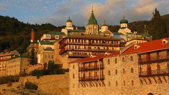 Афонский Пантелеимонов монастырь. Фото С. Шумило