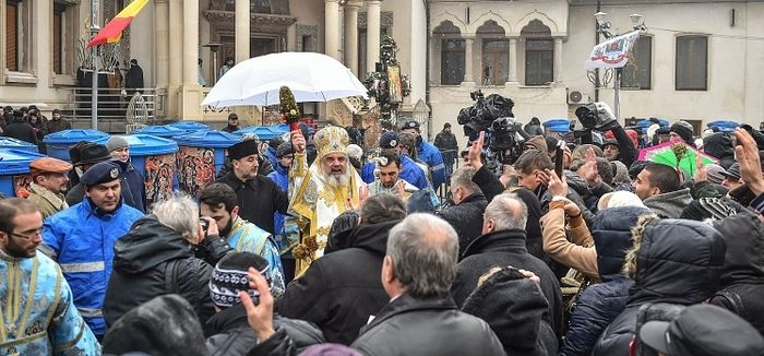 Theophany at the Romanian Patriarchate / OrthoChristian Com