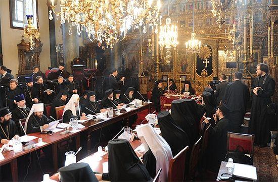 Константинопольский Собор православных церквей. Фото: Иерусалимский патриархат
