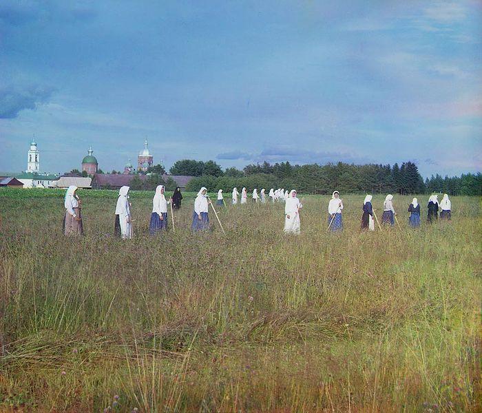 Леушинский монастырь. Фото: С.М. Прокудин-Горский