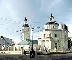 Церковь во имя свт. Филиппа, митр. Московского, в Мещанской слободе. Фото с сайта hram.codis.ru