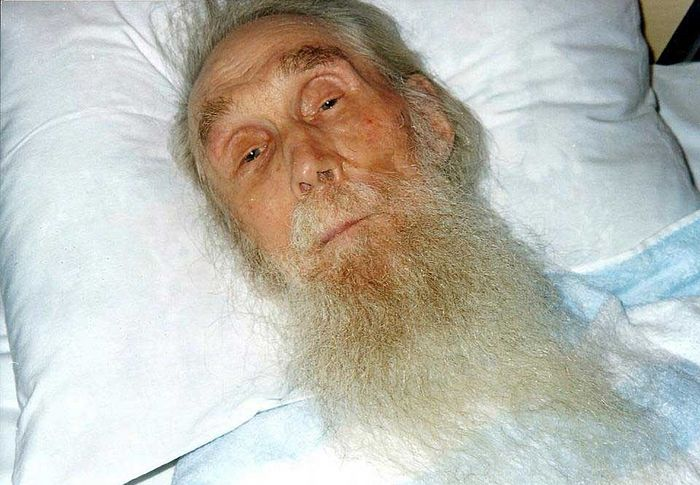 Архимандрит Кирилл (Павлов) на одре болезни