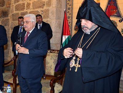Махмуд Аббас: «Христиане – соль этой земли»
