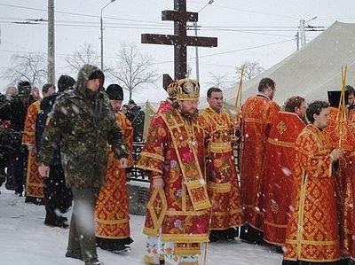 «Он говорил, что мы должны быть воины Христовы»: в Киеве поминали убитого полгода назад священника
