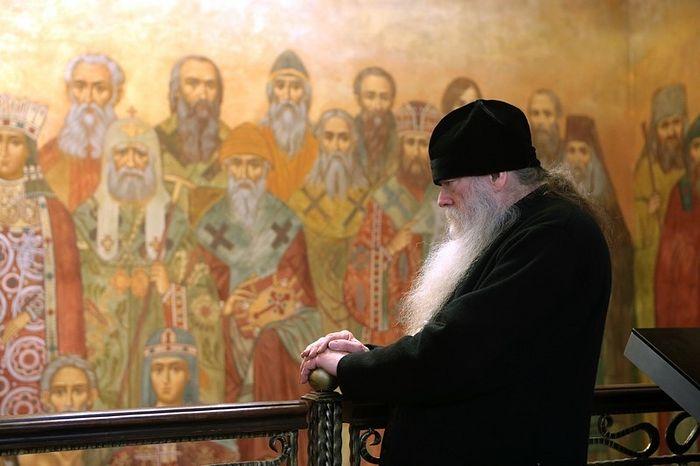 Схиархимандрит Иоаким (Парр) в Сретенском монастыре
