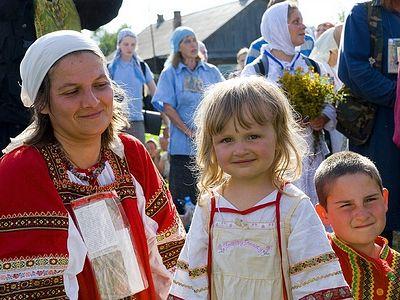 Лики Иринарховского крестного хода