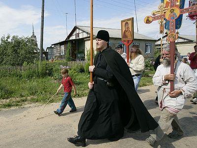 Иринарховский Крестный Ход 2007 г.
