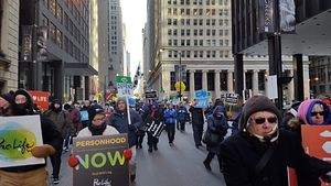 Despite frigid weather, a record 5,000 marchers participated in this year's March. (Photo: Regina D'Amico)