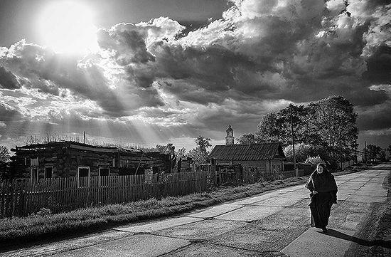 Матушка Феодосия в начале строительства вынуждена была ходить по дворам с церковной кружкой, просить подаяния для храма. Фото: Олег Астахов