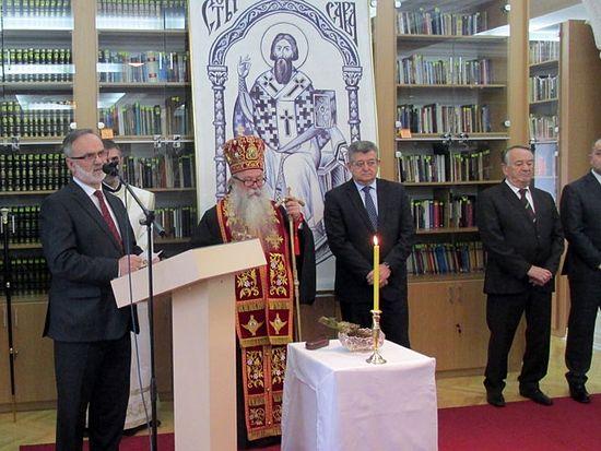 Бијељина: Прва црквена библиотека у Републици Српској отворена за јавност, фото: СРНА