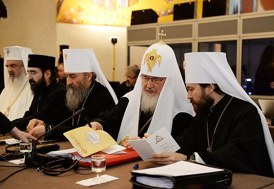 Второй день работы Собрания Предстоятелей Поместных Православных Церквей. Фото: О. Варов