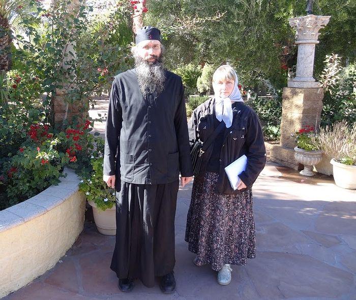 Иеродиакон Серафим и Ольга Рожнева