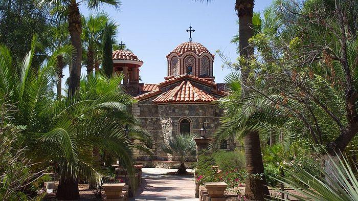 Монастырь прп. Антония Великого в Аризоне